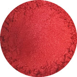 Fiery red cosmetic mica powder