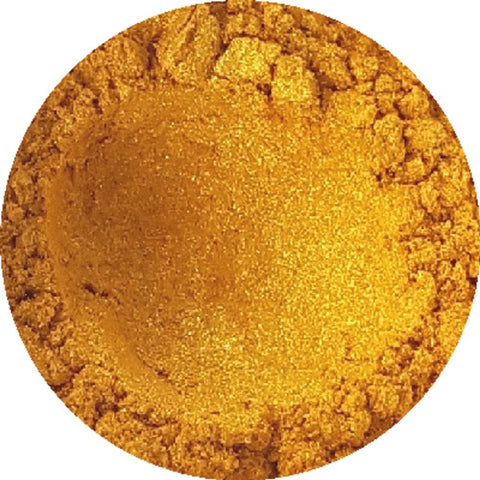 Golden Sparkle Cosmetic Mica Powder