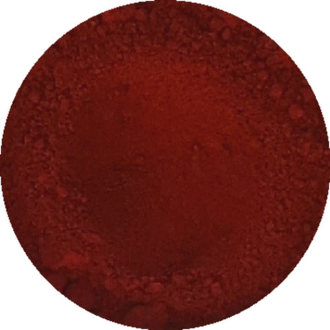 Red oxide cosmetic mica powder