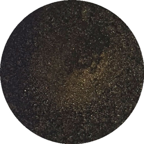 Golden brown cosmetic mica powder