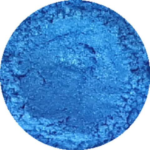 Ice blue cosmetic mica powder