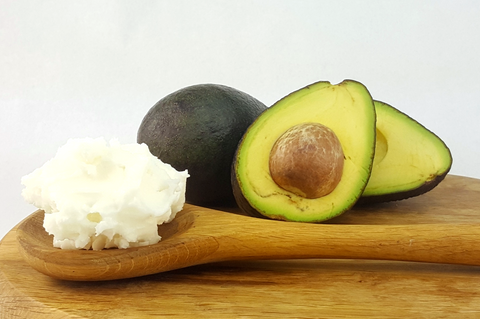 Avocado butter for natural body butters and hair treatments