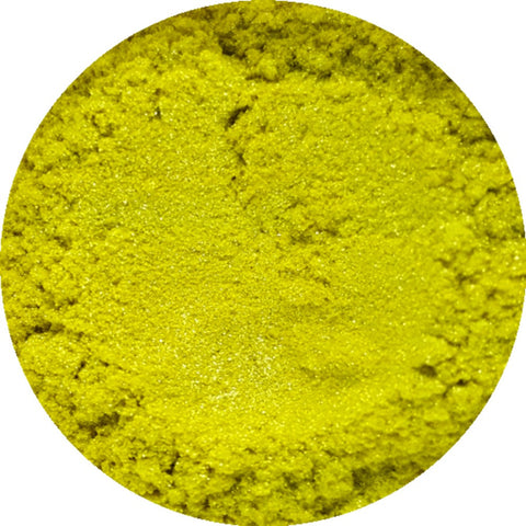 Lemon Sherbet Yellow Cosmetic Mica Powder