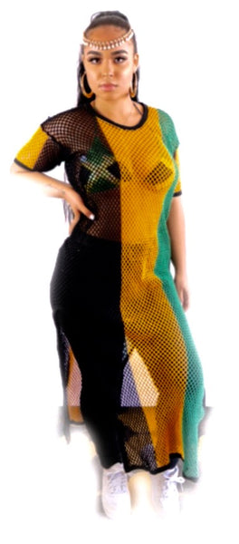 Jamaica string dress