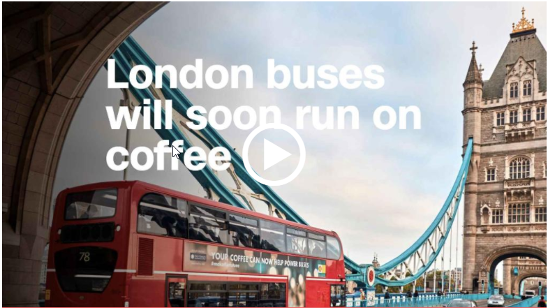 There's a new buzz powering public buses in London.