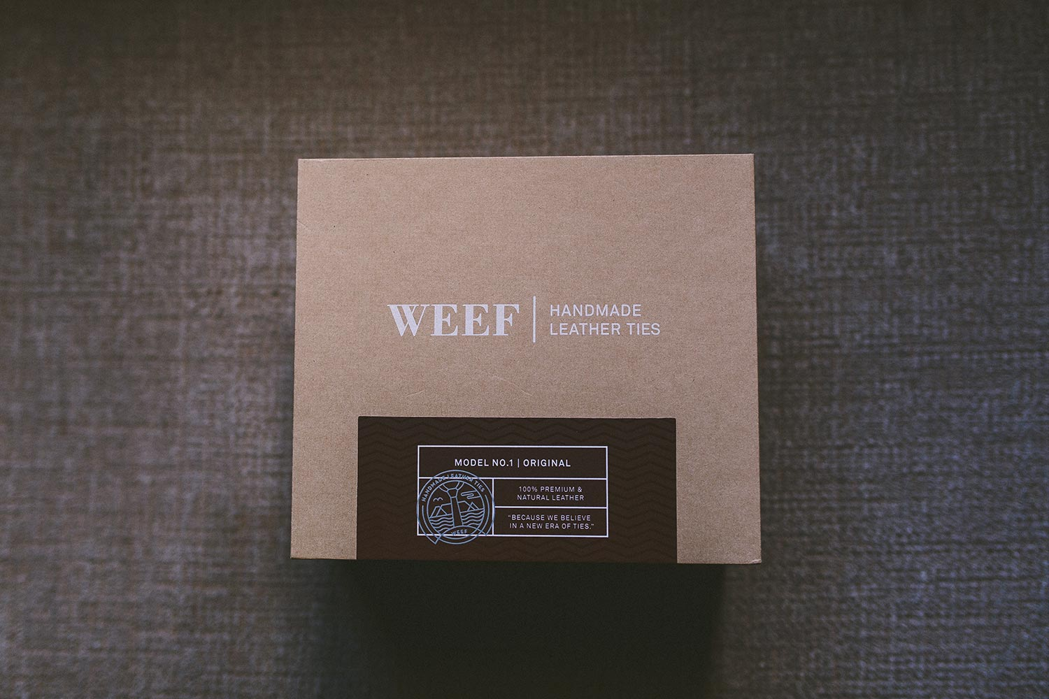 WEEF | Handmade Leather Ties – WEEF Weddings – Make your wedding unique and special