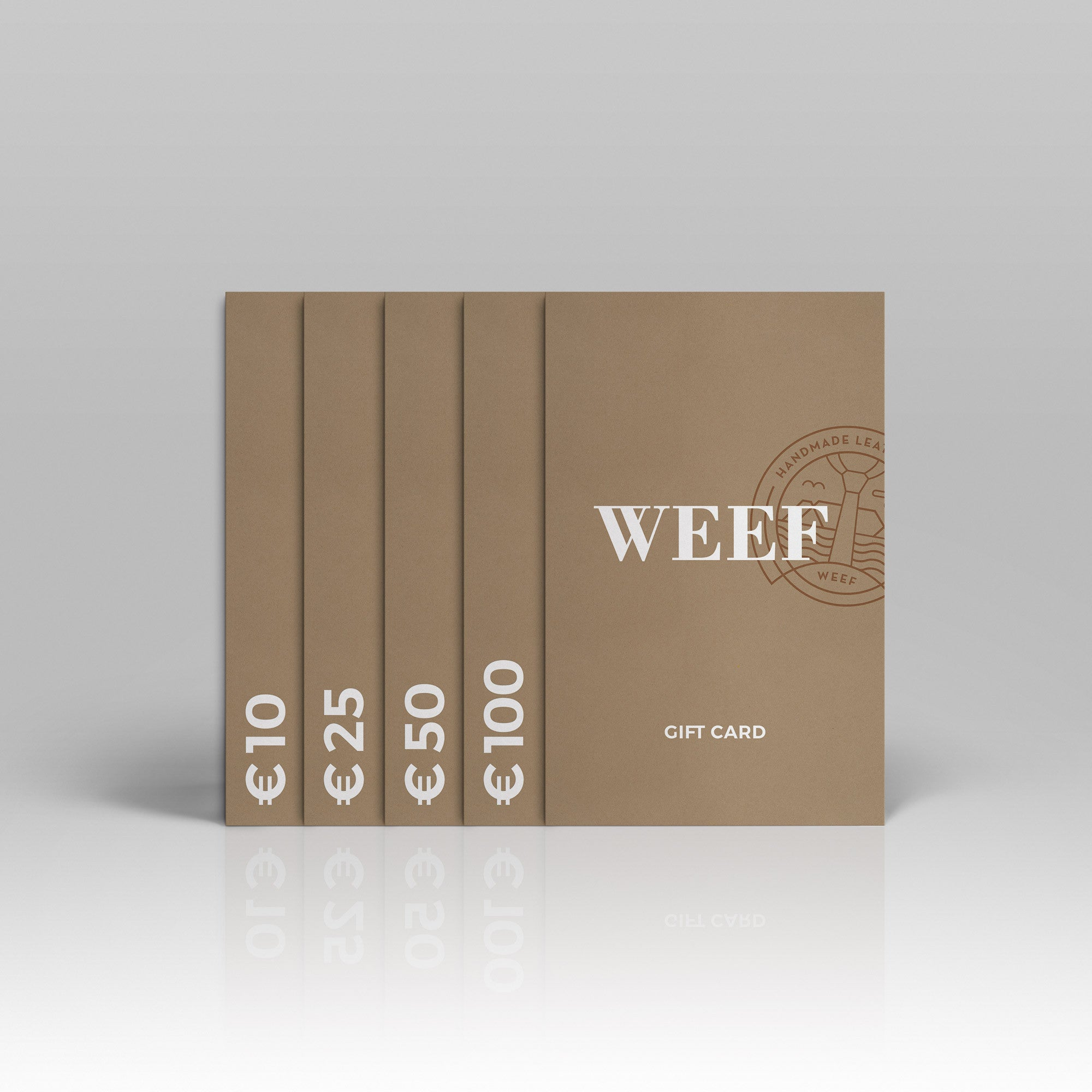 Gift Card - WEEF | Handmade Leather Ties