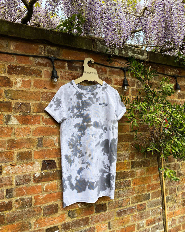 Organic Cotton Hand Tie Dyed Sweatshirt Dress