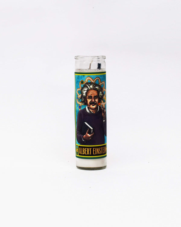 Albert Einstein Candle