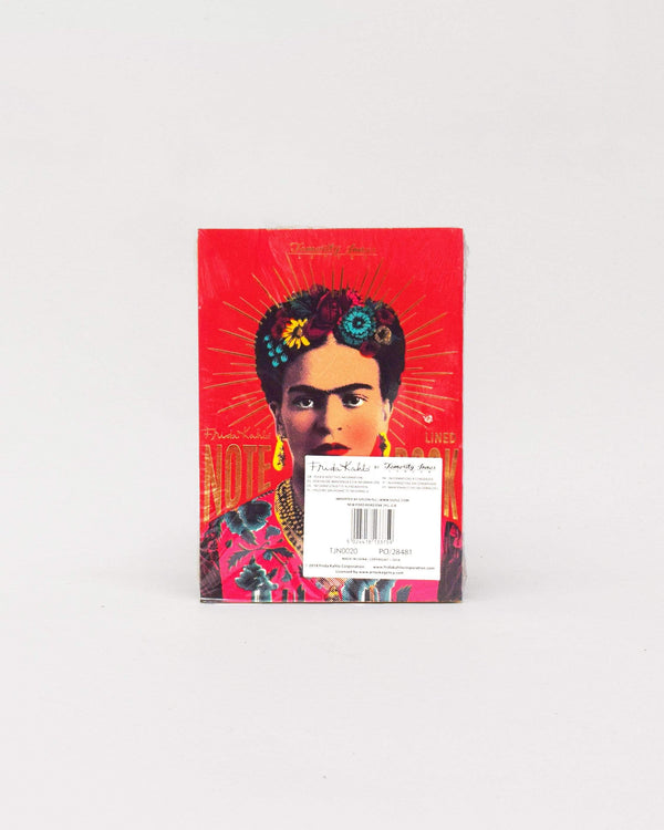 Frida Kahlo Lined Notebook Pink