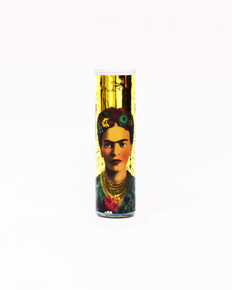 Frida Kahlo Tall Candle