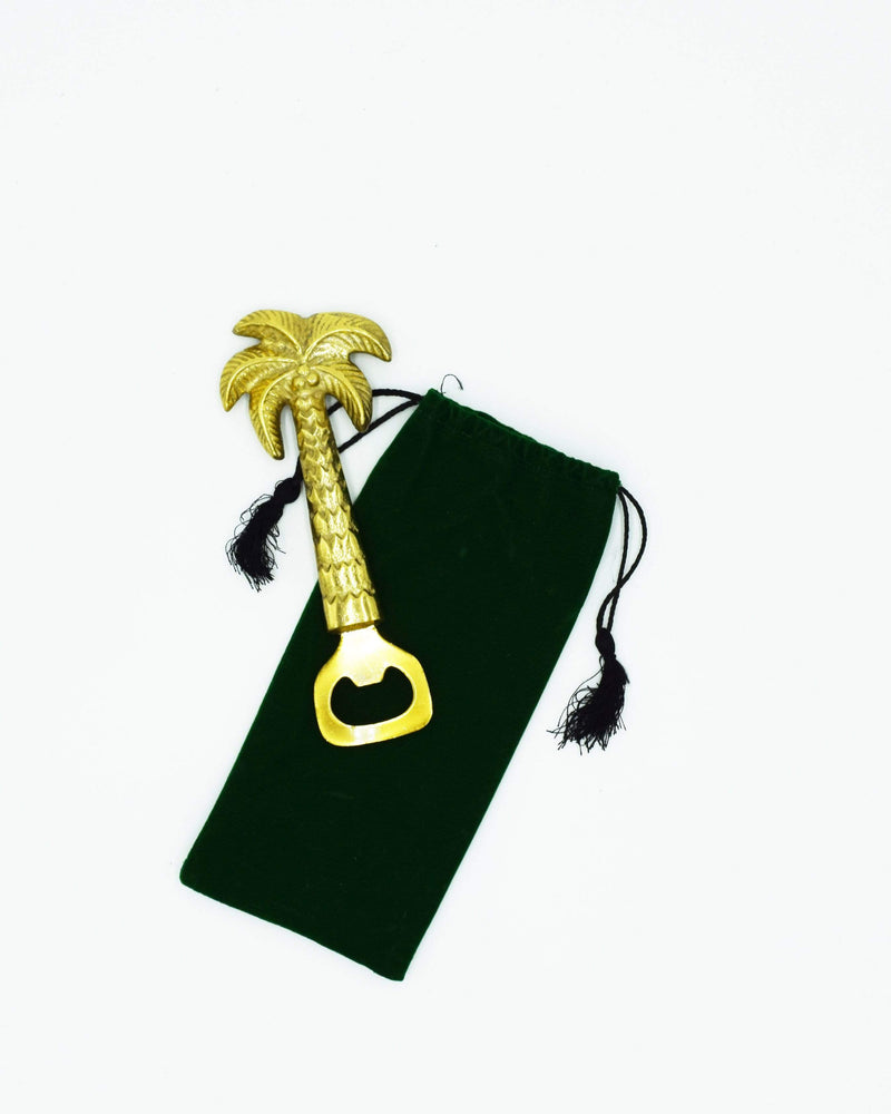 Golden Palm Tree Bottle Opener