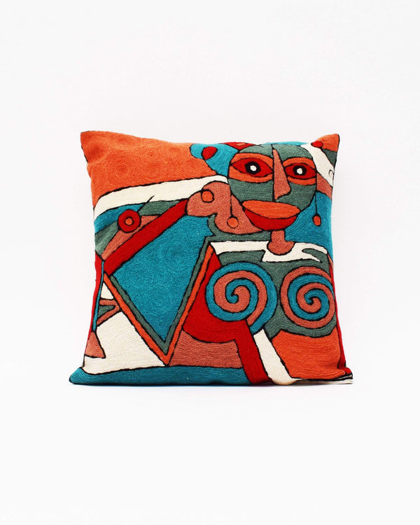 Indian Wool Pillow