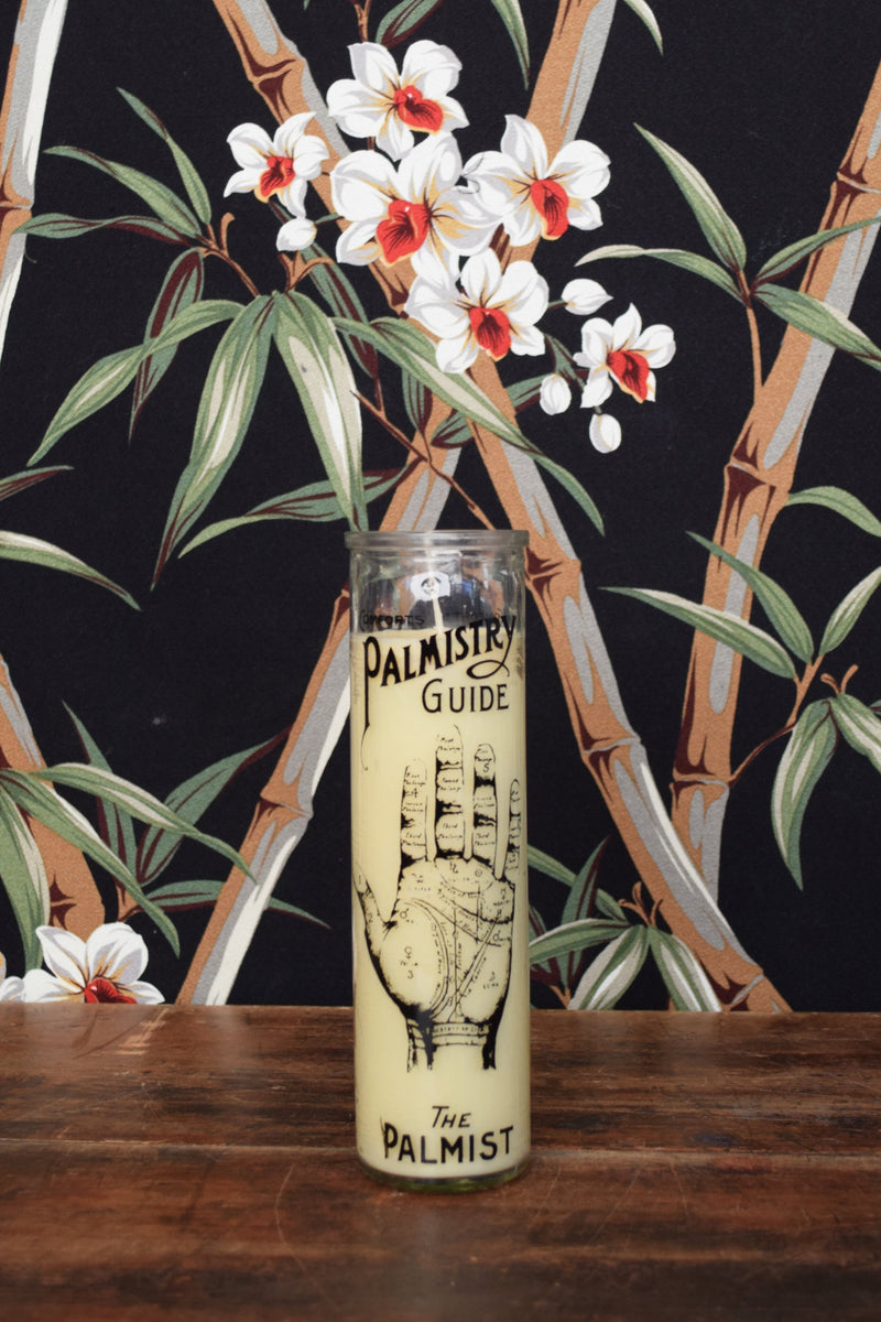 Palmistry Guide Candle