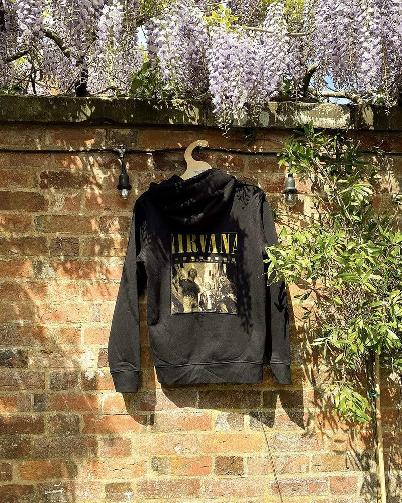 One of a Kind Vintage Band Tee Applique Hoodie