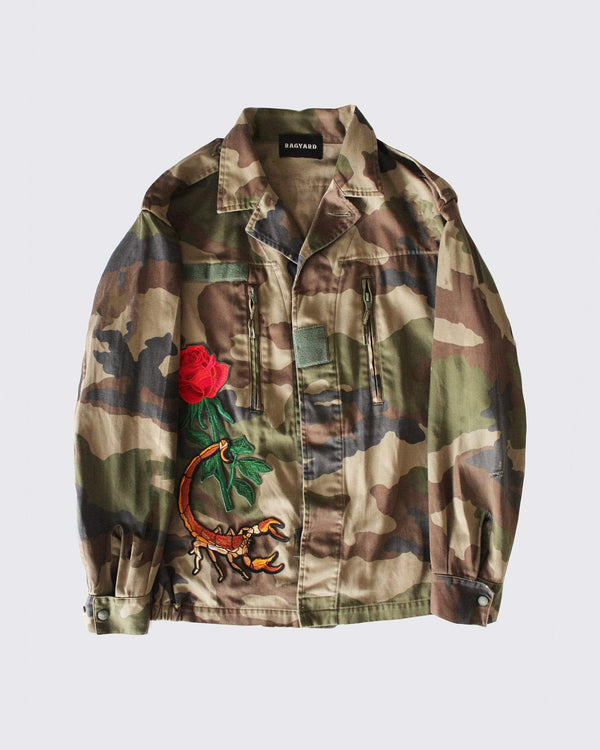 Multi Patched F2 Camo Jacket
