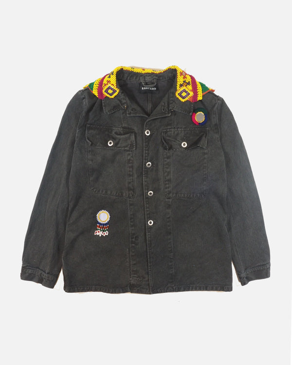 Kuchi Back Panel Denim Jacket