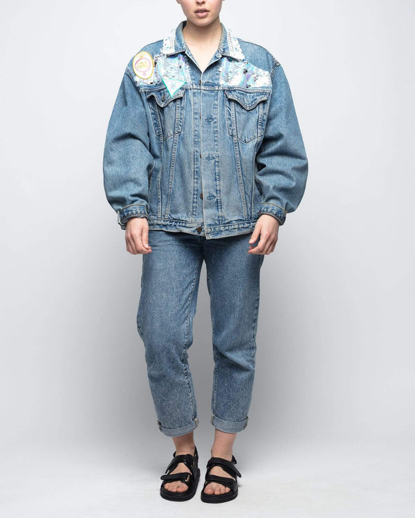 GIRL POWER VINTAGE LEVI JACKET