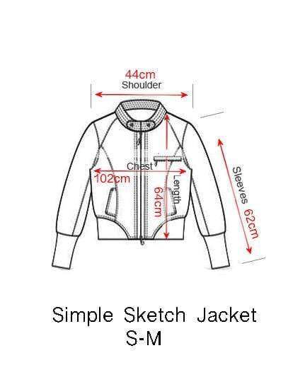 RAGYARD X IEVA LI SIMPLE SKETCH JACKET