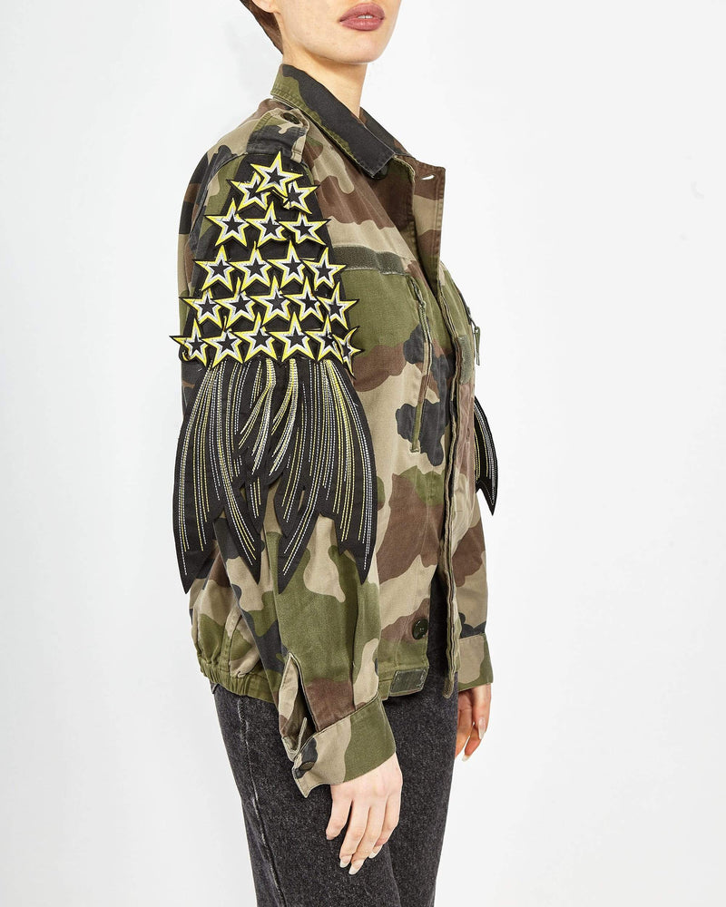 Star Patch F2 Camo Jacket
