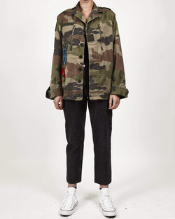 Vintage Multi Patched Camo F2 Jacket