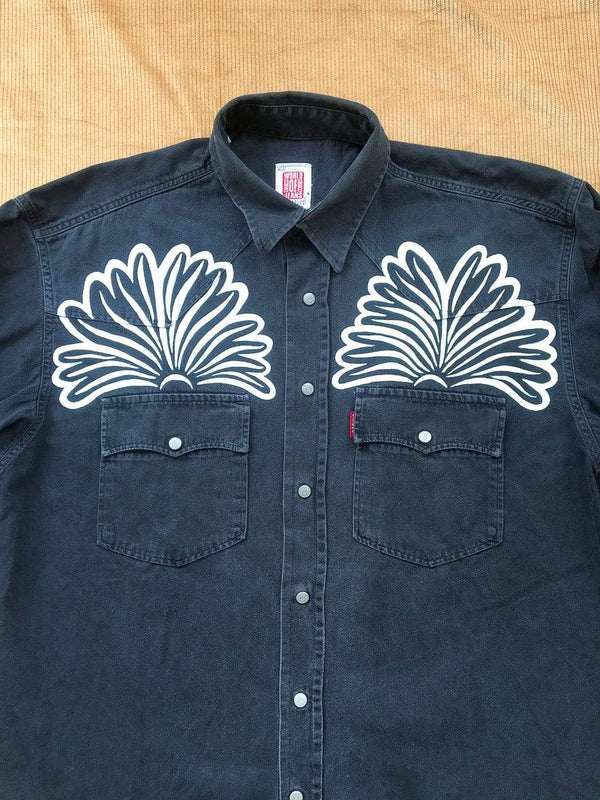 Amy Isles Freeman X Ragyard Denim Shirt