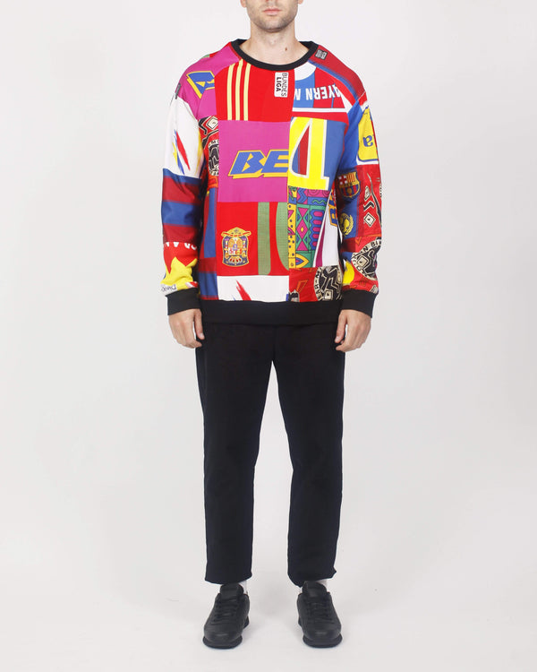 Rework Premium Patchwork Sweat