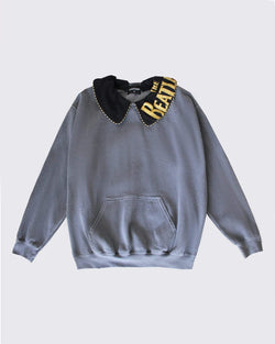 Reworked Collar Sweatshirt