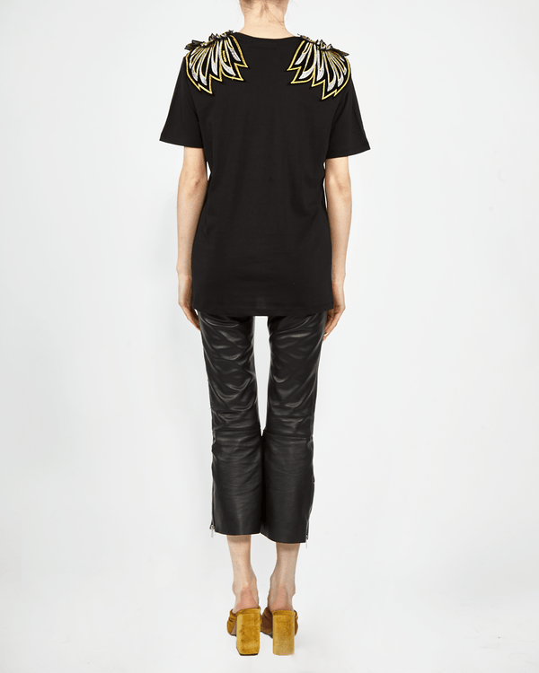 Golden Wing Patch T-shirt