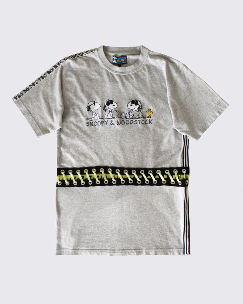One of a kind reworked Snoopy T-shirt