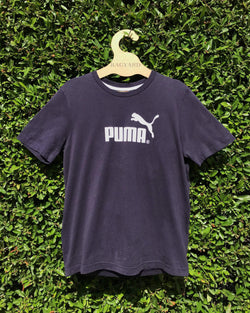 Embroidered Patch Back Vintage Puma T-shirt