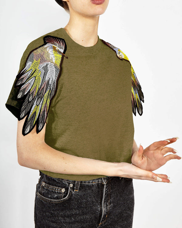 Parrot Sleeve T-Shirt