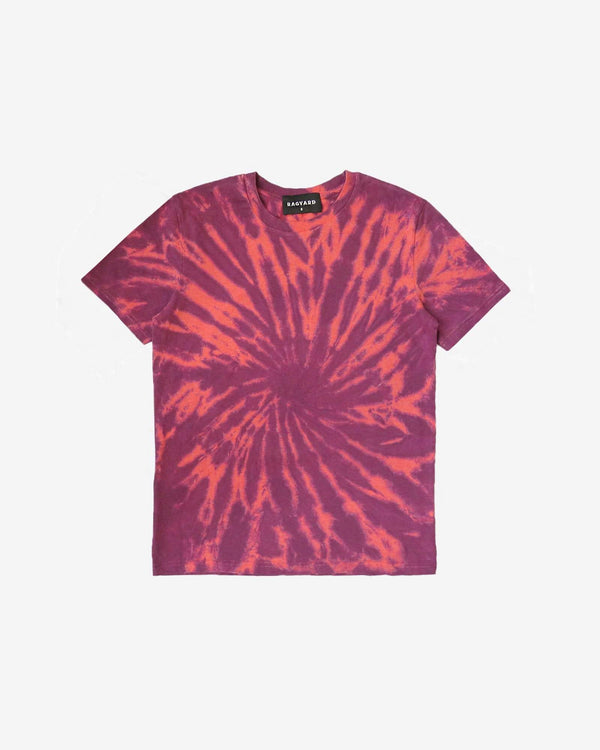 Patched Back Tie Dye T'shirt