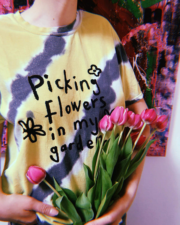 Picking Flowers In My Garden T-shirt