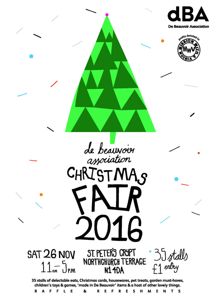 De Beauvoir Association Christmas Fair 2016