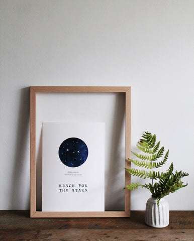 Reach for the stars print
