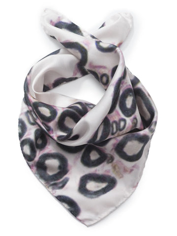 Histology silk scarf