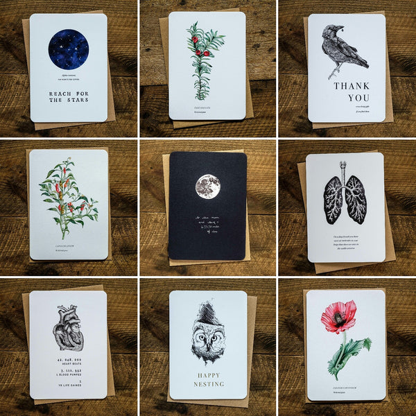 New card collection launch from we are stardust