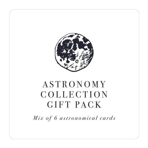 Astronomy greetings card collection gift set