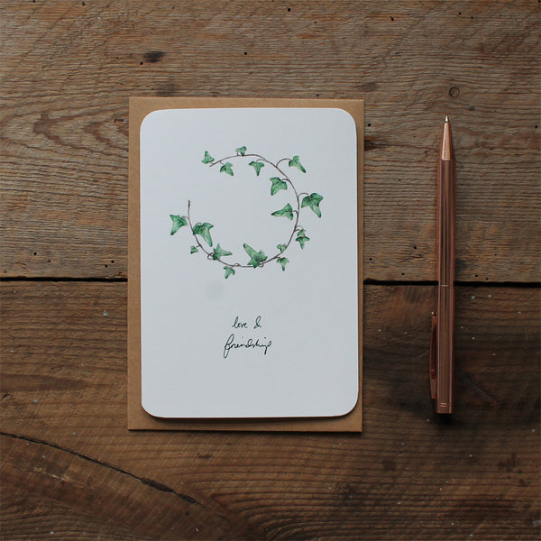 Ivy Christmas card pack of 6
