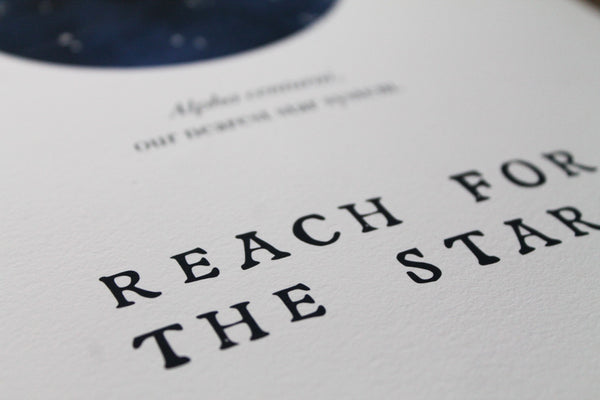 Reach For The Stars limited edition giclée print
