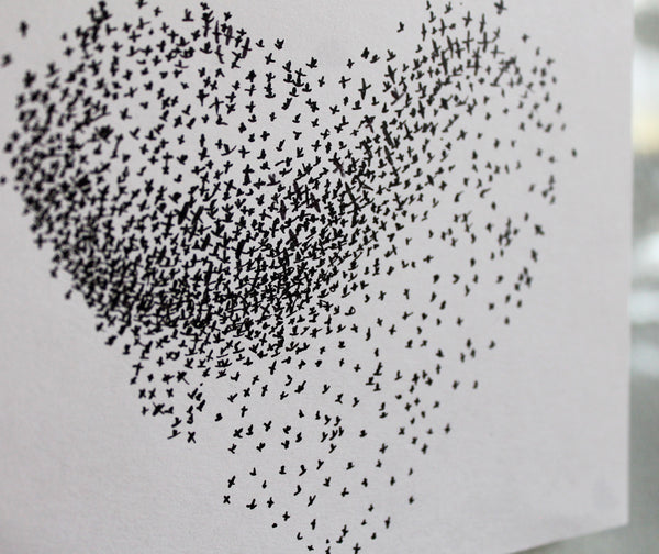 Starling Murmuration Original Artwork