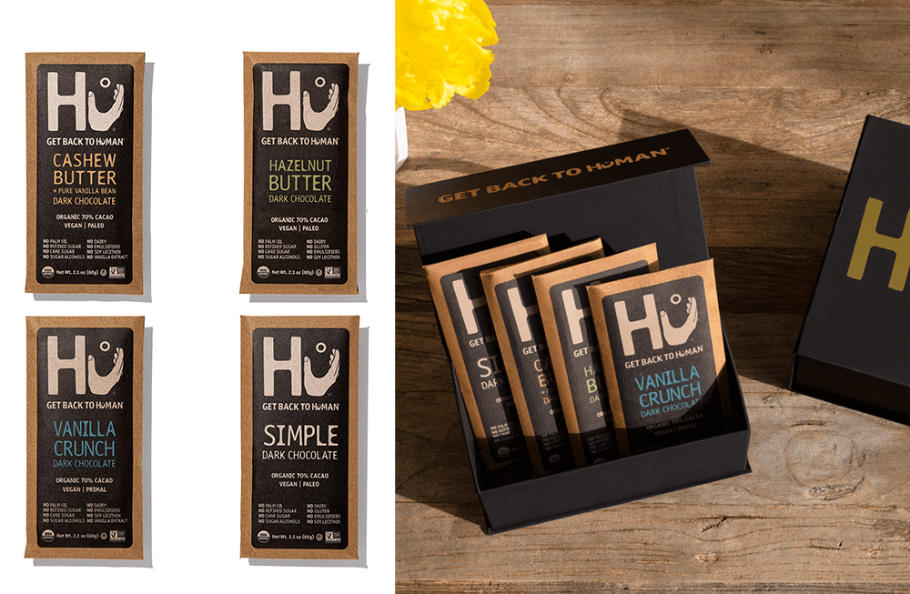 Hu Mother's Day 4-pack Variety Chocolate Gift Box