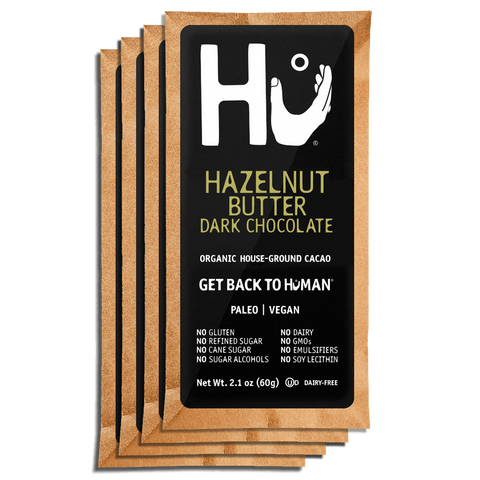 Hazelnut Butter Chocolate Bar Hu Kitchen