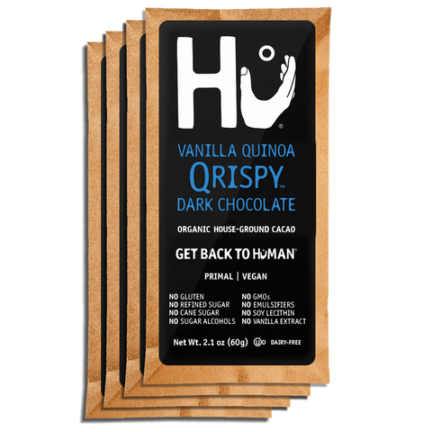 Vanilla Quinoa Qrispy Chocolate Bar Hu Kitchen
