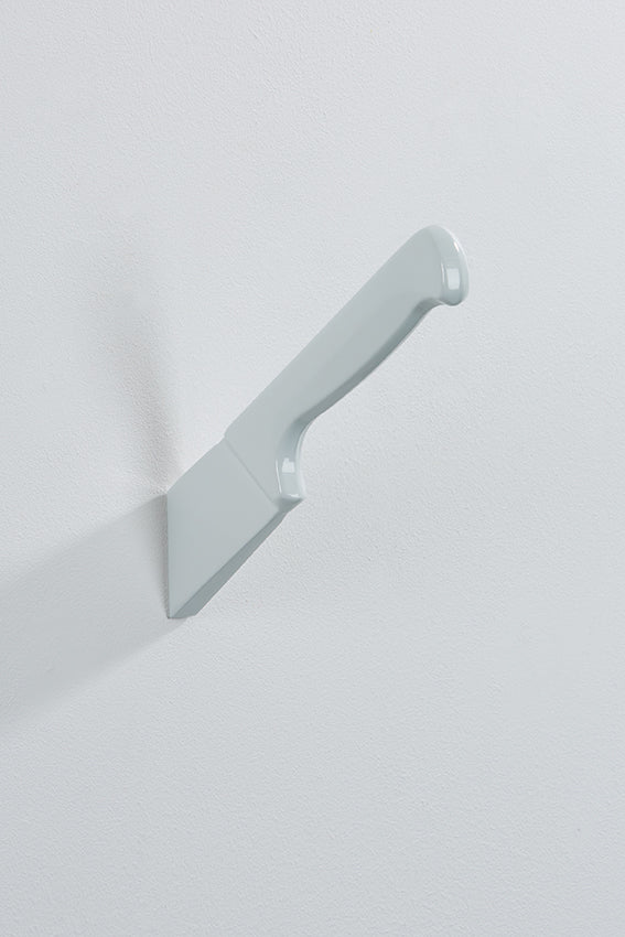 Knife wall art or hook, and white colour