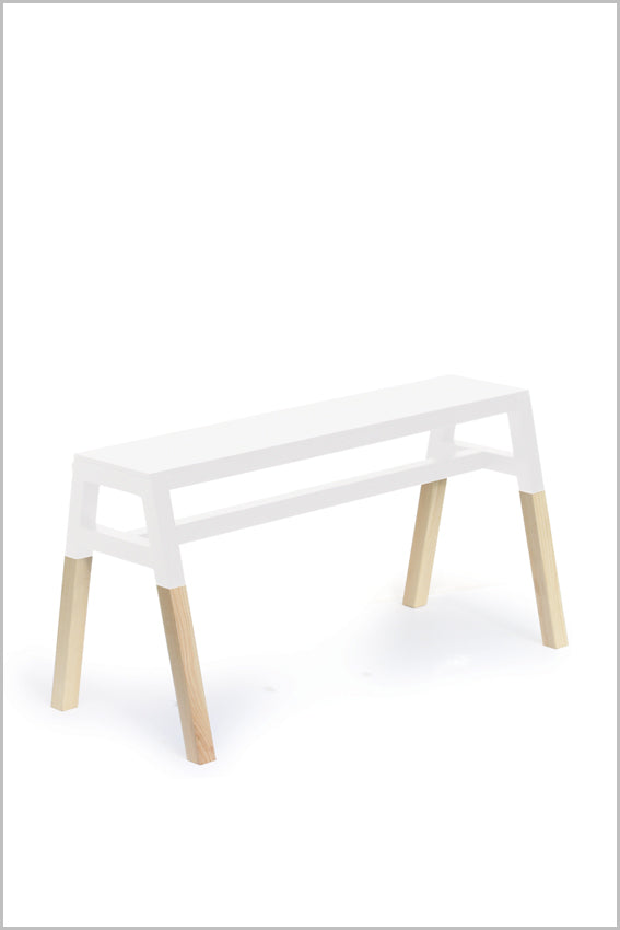 Jessie Bench, white