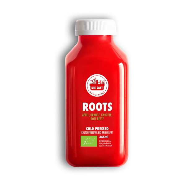 ROOTS Bio Frischsaft - DIE SAFT Manufaktur