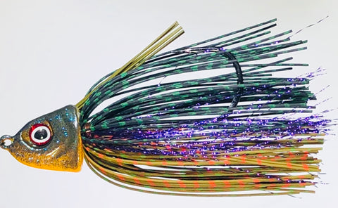 Deposit Swim Jig Rubber Flash Series