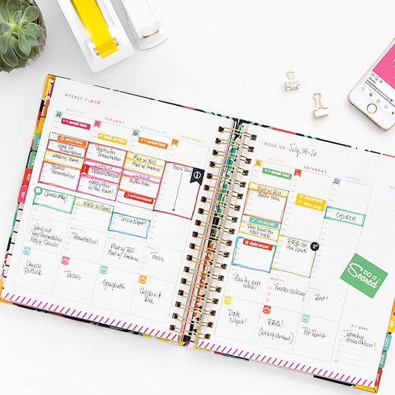 Living Well planner from the Living Well Shop